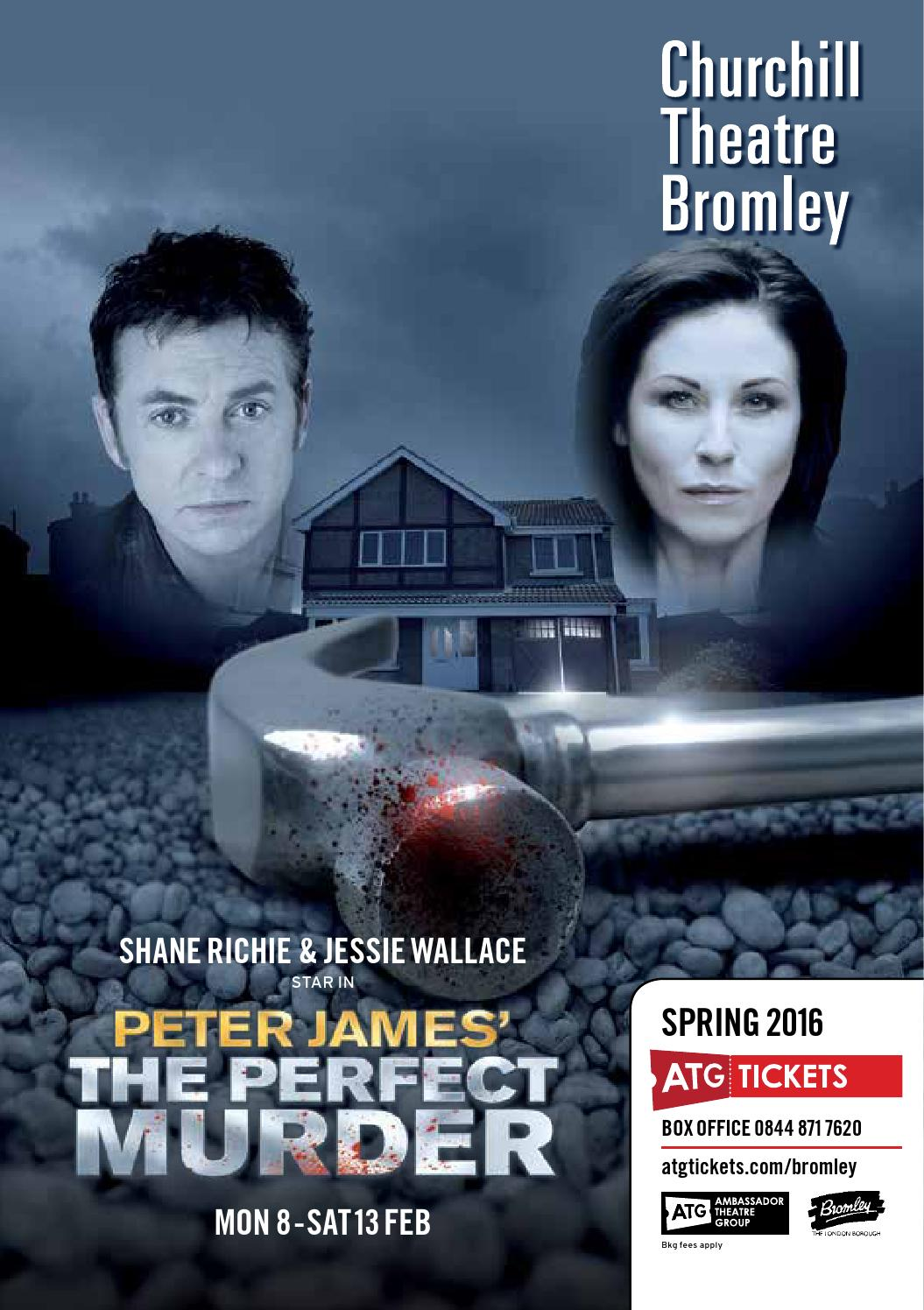 Churchill Theatre Bromley brochure Spring 2016 by ATG