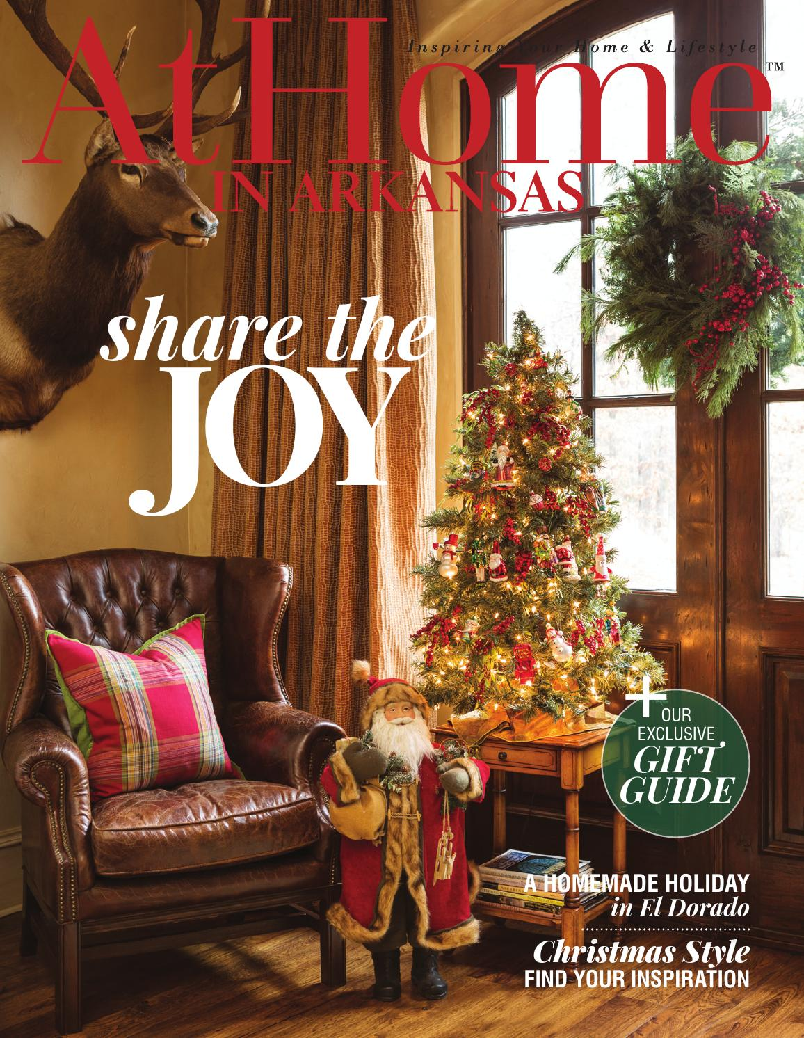 At Home In Arkansas December 2015 By Root Publishing Inc