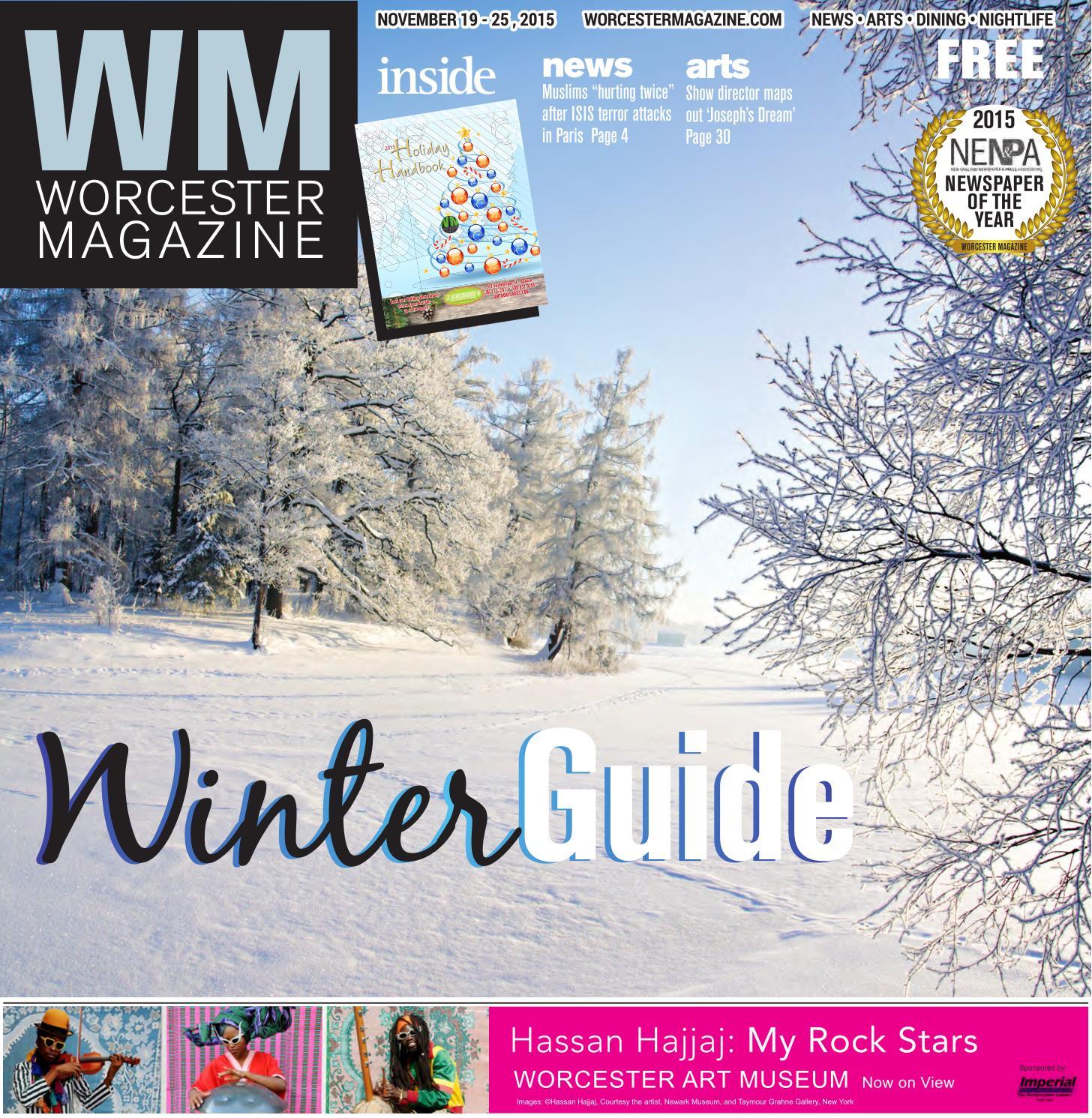 Worcester Magazine November 19  25, 2015 By Worcester Magazine  Issuu