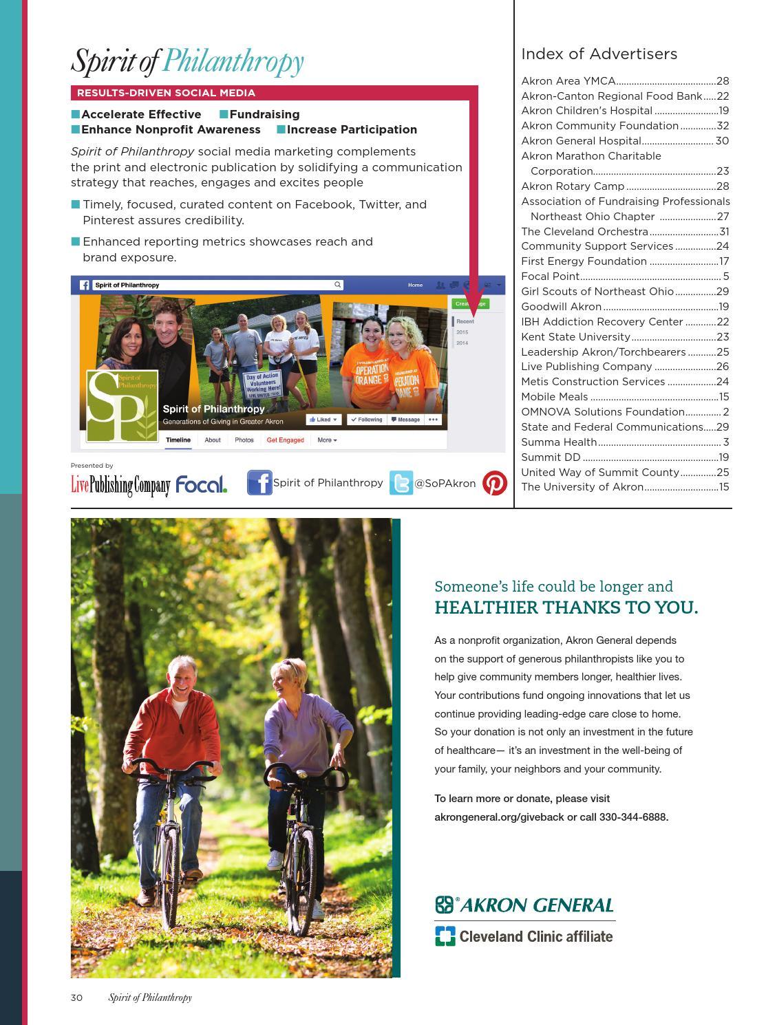 Spirit of Philanthropy 2015-2016 by Live Publishing - issuu