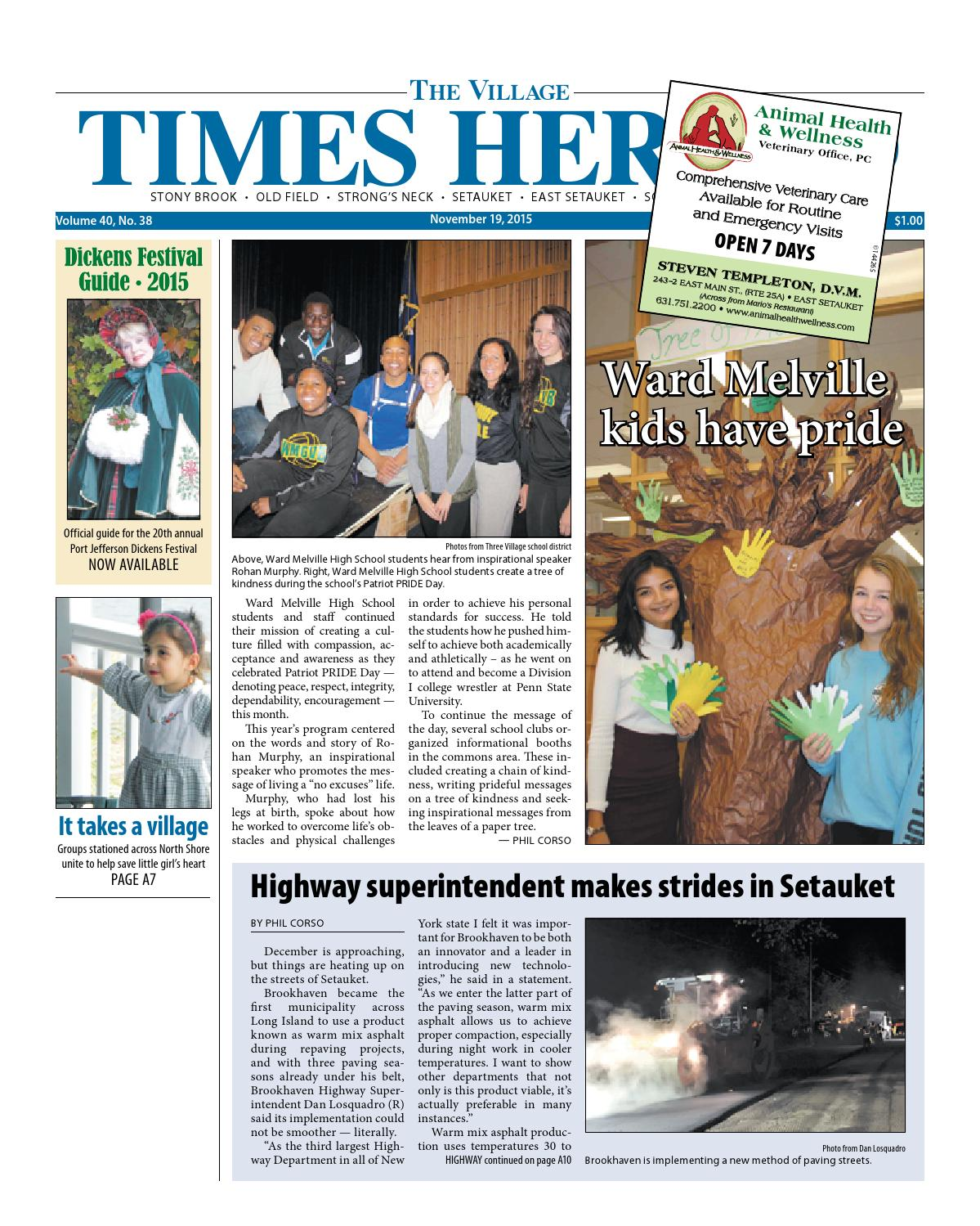 The Village Times Herald - November 19, 2015 by TBR News Media - issuu
