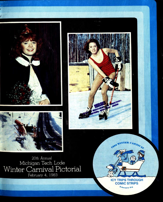 Michigan Technological University: Winter Carnival Pictorial 1983 By Michigan Technological