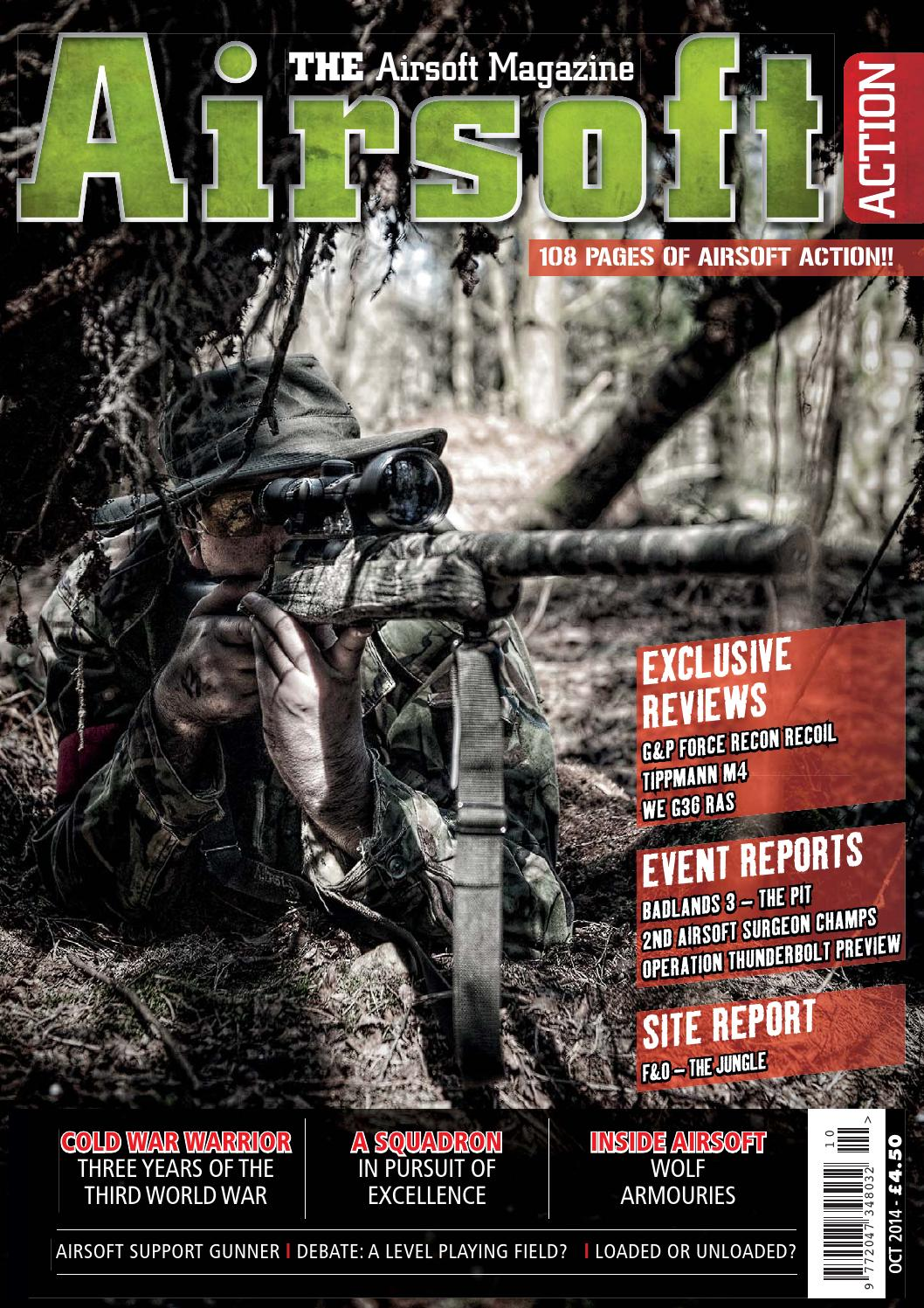 Issue 40 - October 2014 by Airsoft Action Magazine - issuu