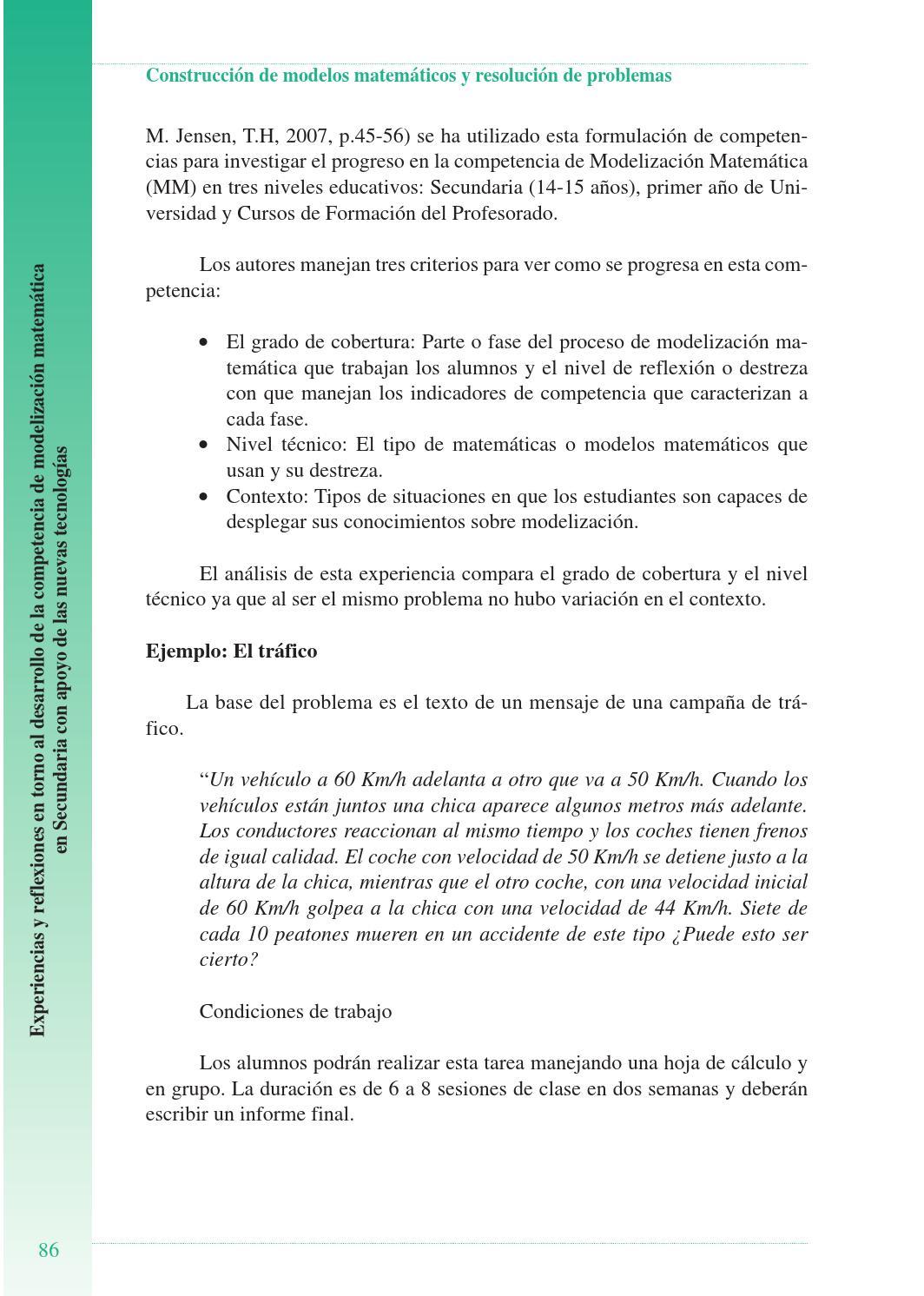 Construcción de modelos matemáticos y resolución de problemas by ...