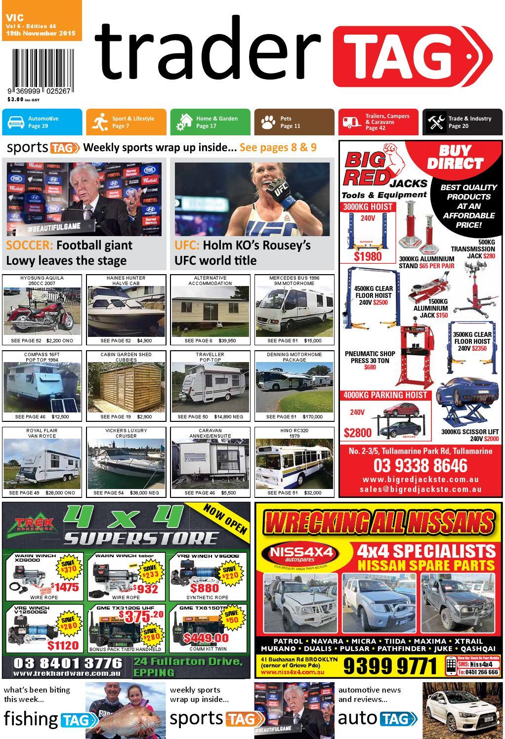 TraderTAG Victoria Edition 46 2015 by TraderTAG Design