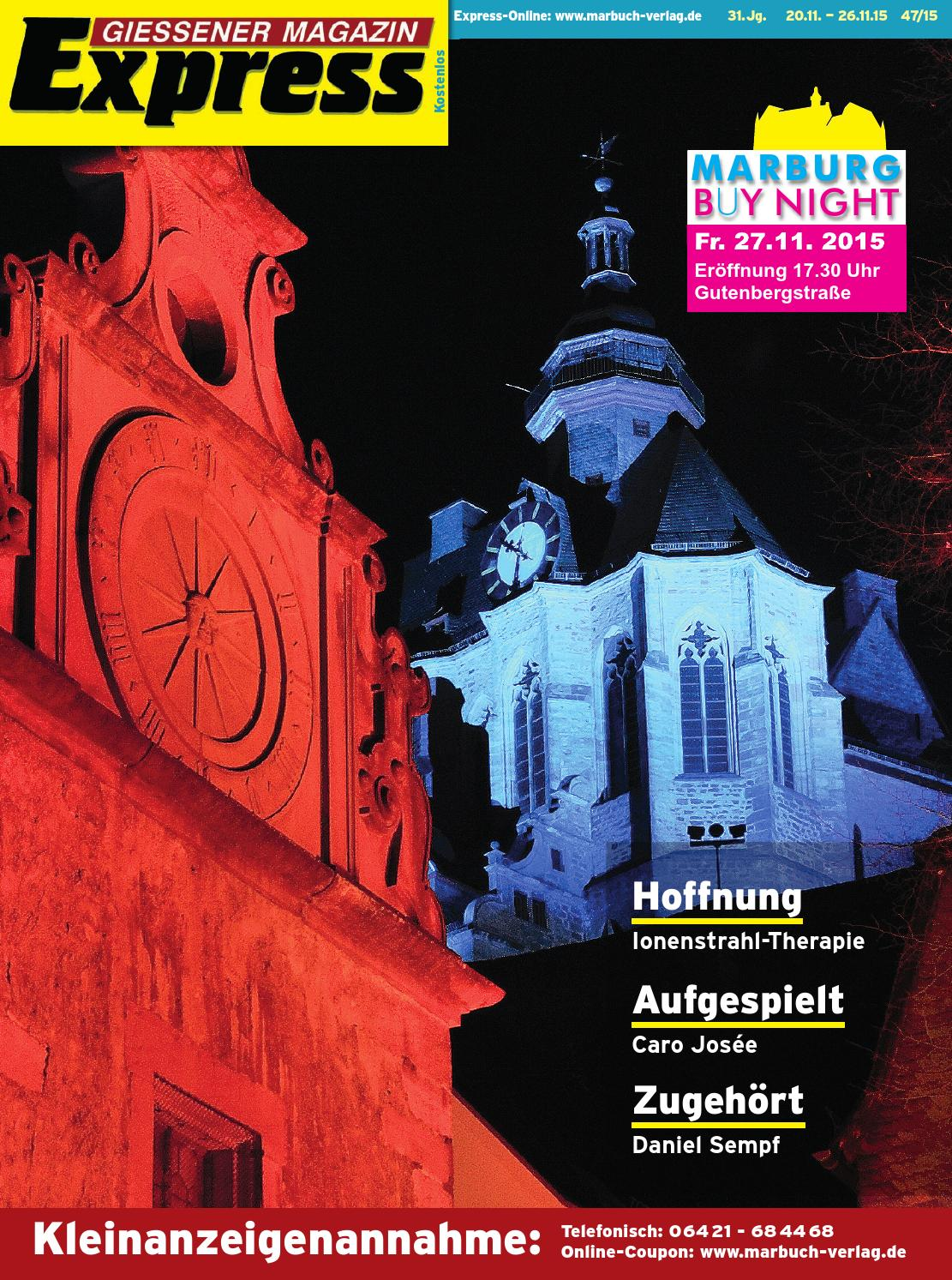 Gießener Magazin Express 47/2015 by Ulrich Butterweck - issuu