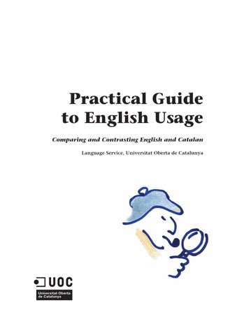Practical Guide in English Usage (UOC) by UOC (Universitat