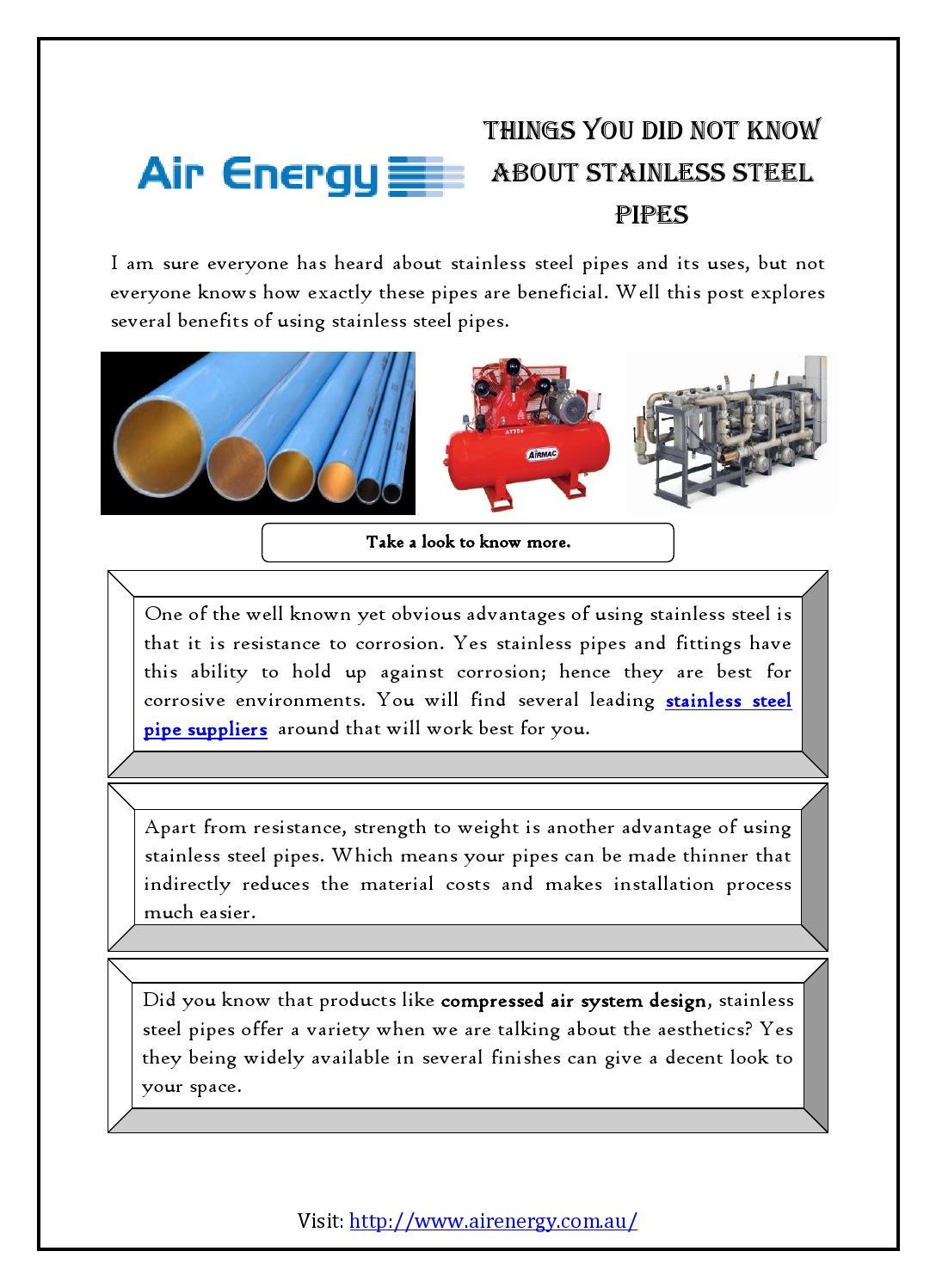 The advantage of stainless steel pipe 89