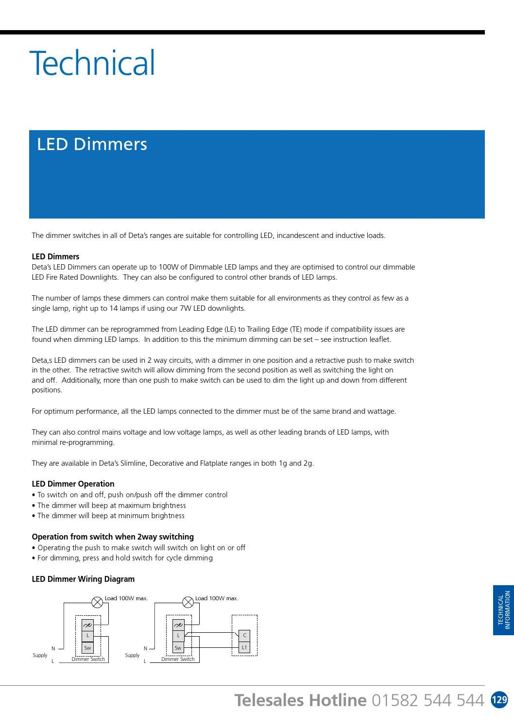 Deta Wiring Accessories Product Catalogue By Sentor Electrical Issuu Dimmer Switch Diagram