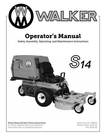 Walker MS 14/S14 by Walker Vertriebs AG - issuu on