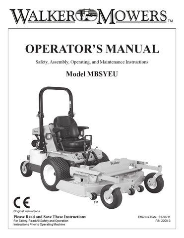 walker mh24d h24d by walker vertriebs ag issuu page 1 tm operator s manual