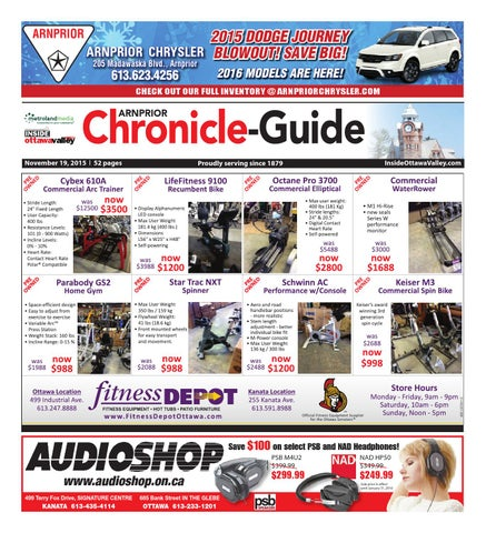 Arnprior111915 By Metroland East Arnprior Chronicle Guide Issuu
