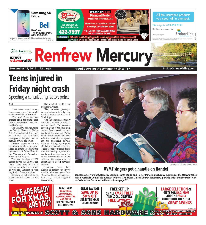 Renfrew by Metroland East Renfrew Mercury issuu
