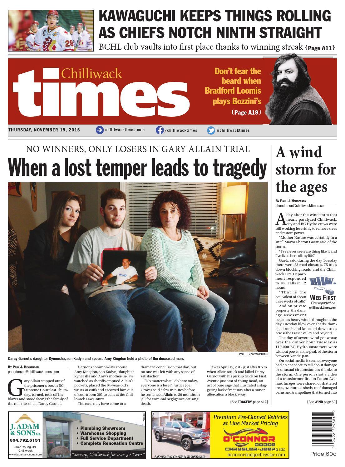 Chilliwack Times November 19 2015 by Chilliwack Times - issuu
