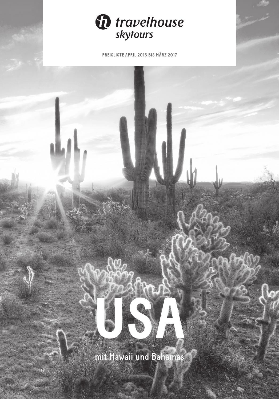 Preisliste Travelhouse USA April 2016 bis März 2017 by