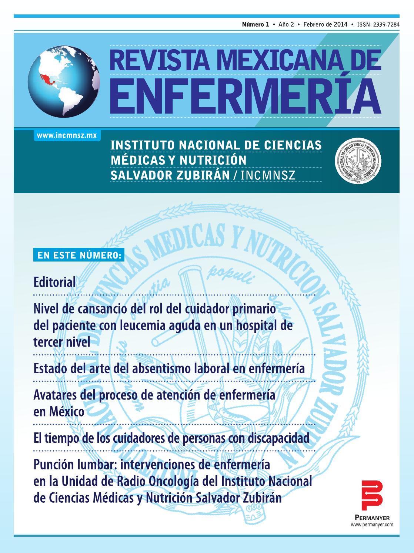 revista mexiana de enfermeria by Juan Rodrigo Lopez - issuu