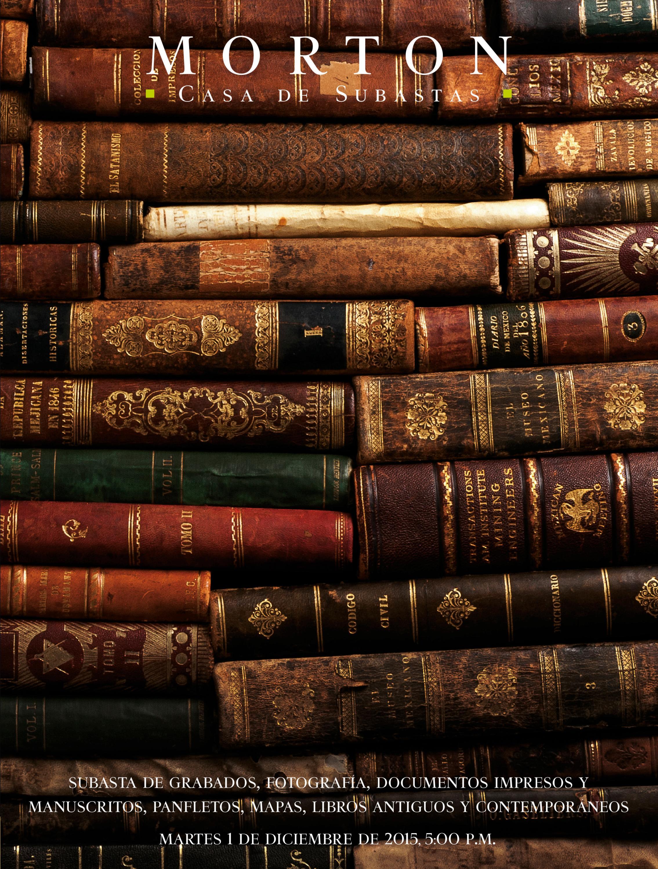 Subasta De Libros Y Documentos By Morton Subastas Issuu
