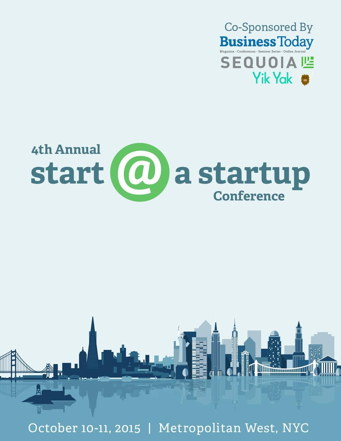Business Today's 4th Annual Start @ A Startup Conference