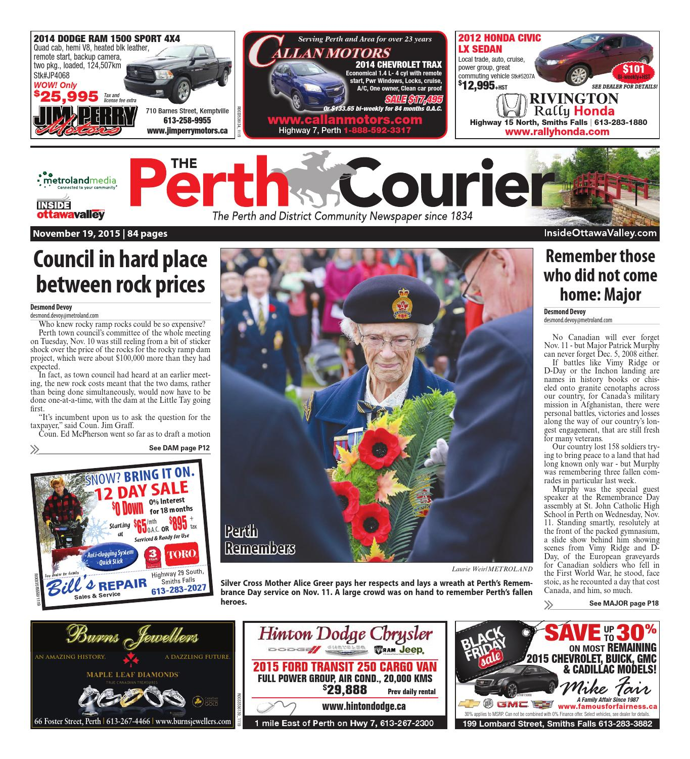 Perth111915 by Metroland East - The Perth Courier - issuu 03f2237e324