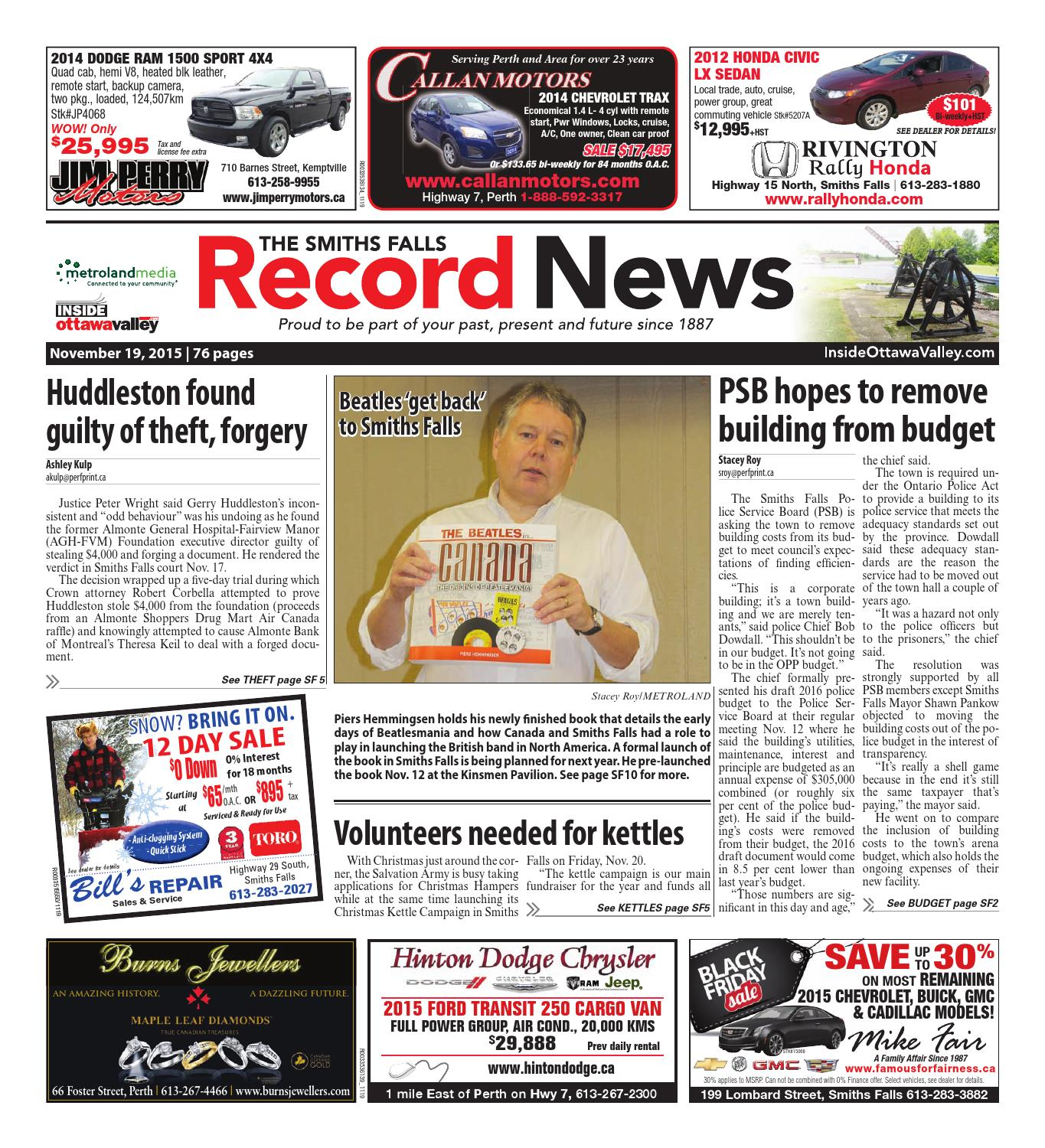 Smithsfalls111915 by metroland east smiths falls record news issuu fandeluxe Image collections