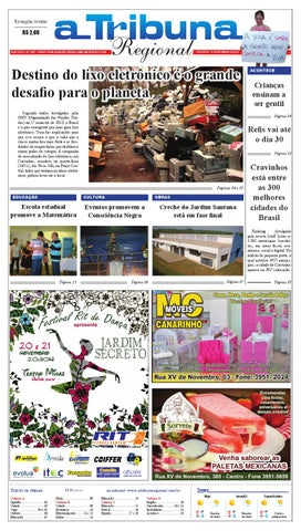 cd93121577 jornal A Tribuna Regional de Cravinhos by Leandro Cavalcanti - issuu