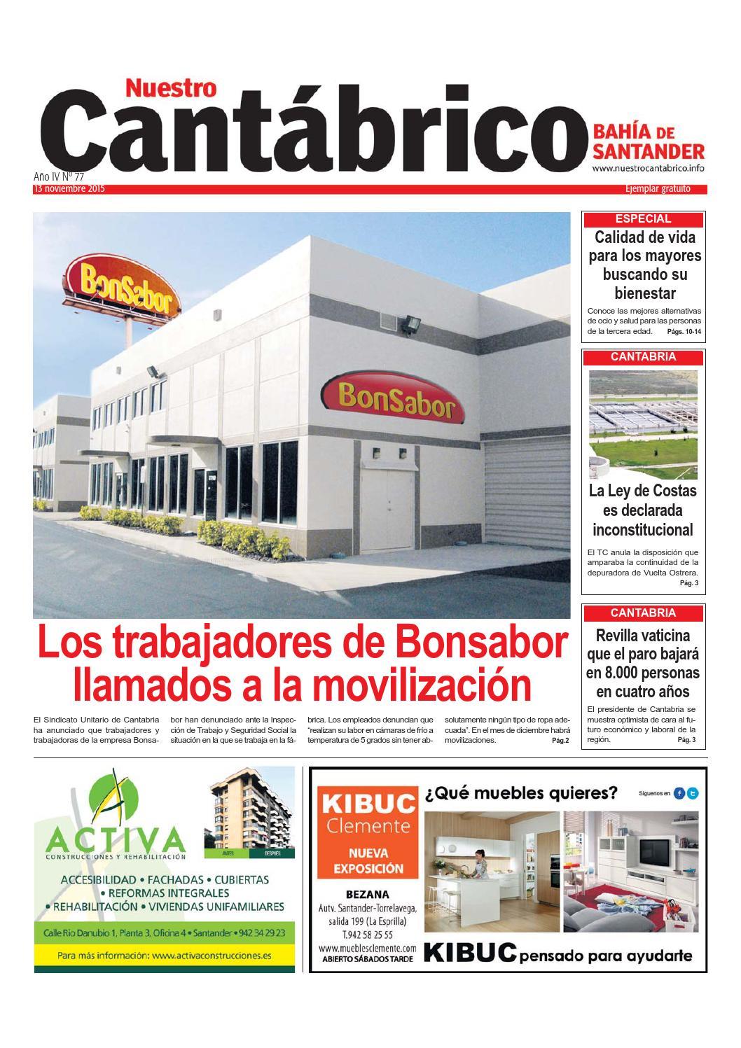 Nuestro Cant Brico Bah A De Santander 77 13 De Noviembre By  # Muebles Rey Bezana Horario