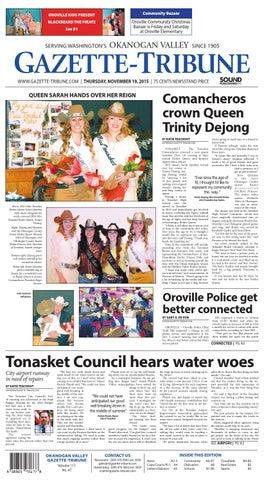 Okanogan Valley Gazette-Tribune, November 19, 2015 by Sound