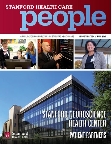 Stanford Health Care People - Fall 2015