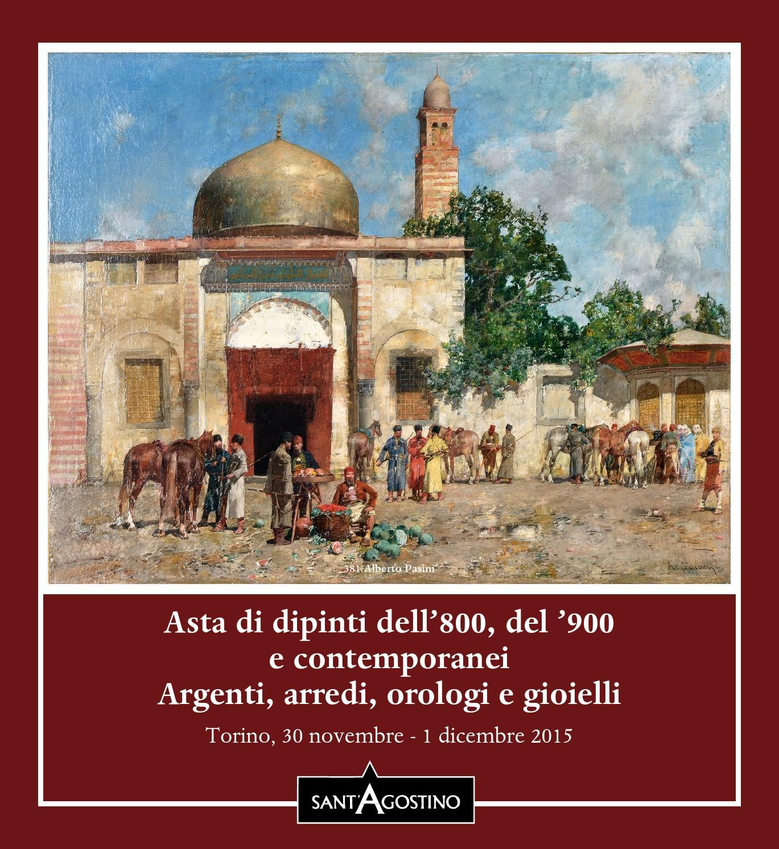 Asta di dipinti dell 39 800 del 39 900 e contemporanei for Cascella arredamenti torino