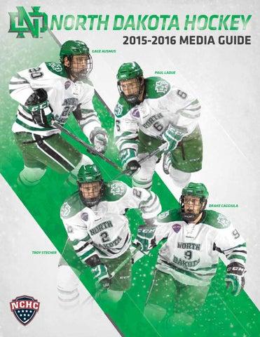df65a7830 2015-16 University of North Dakota men s hockey media guide by ...