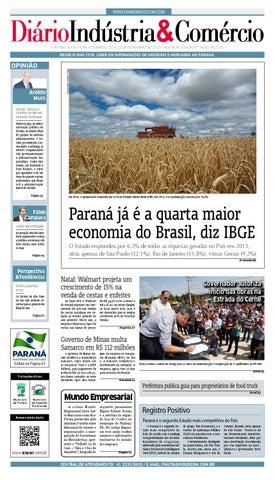 4b3c24d454 Diário Indústria Comércio - 20 de novembro de 2015 by Diário ...