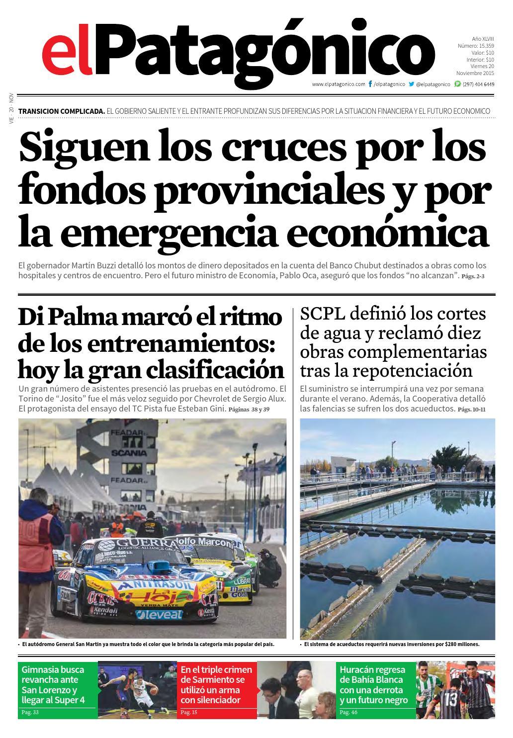 20112015000020112015.pdf by El Patagonico - issuu 5ec88227bc4d0
