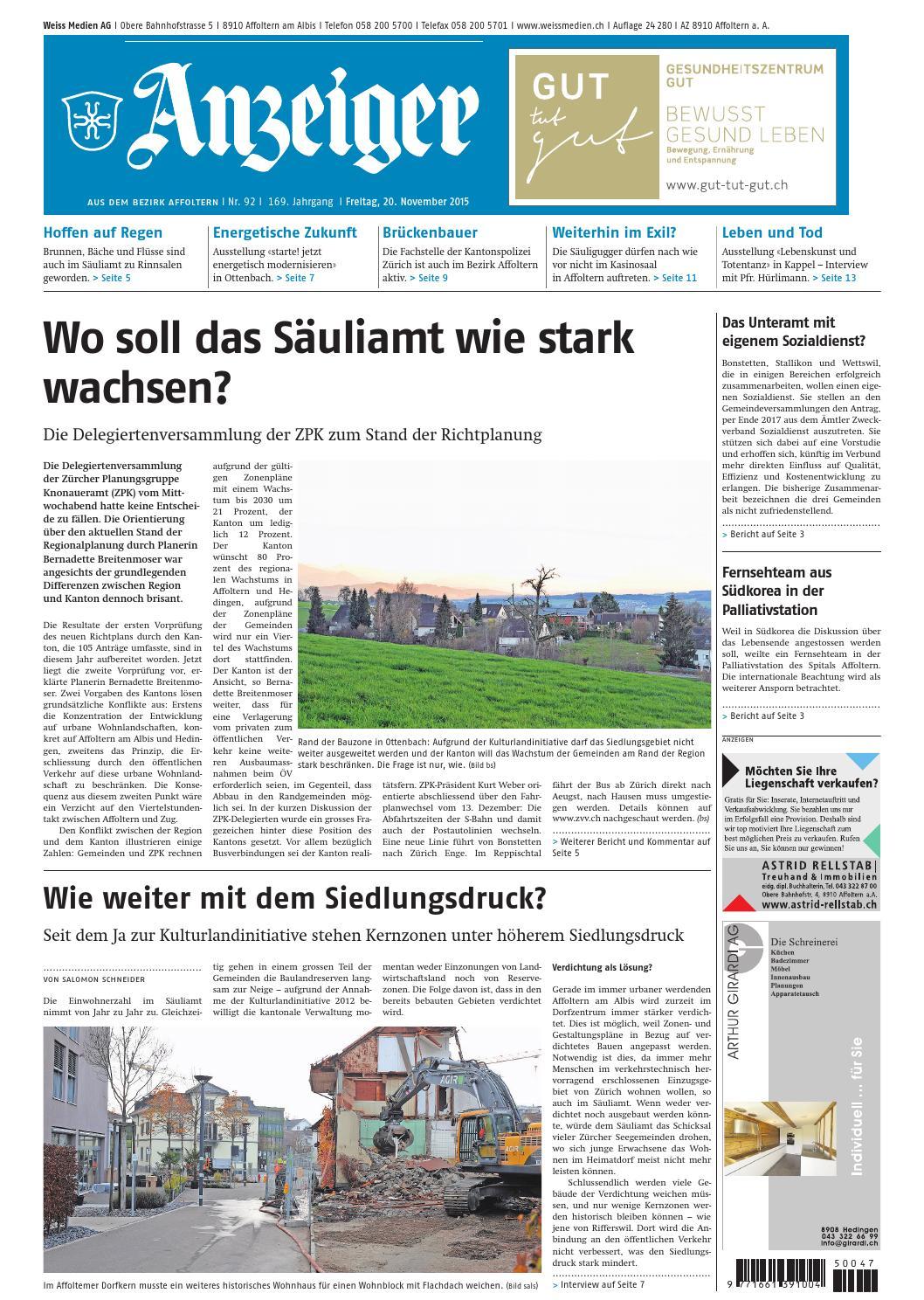 092 2015 by AZ-Anzeiger - issuu