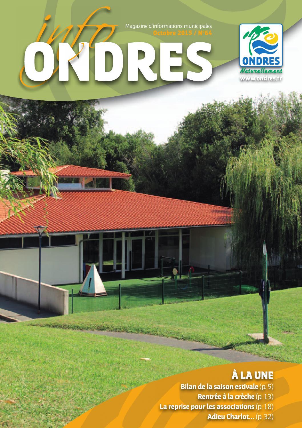 Casse St Martin De Seignanx magazine municipal octobre2015 64okmairie ondres - issuu