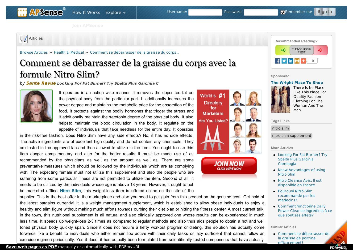 152716fa94269a Yat-il un effet secondaire de Nitro Slim? by santerevue - issuu