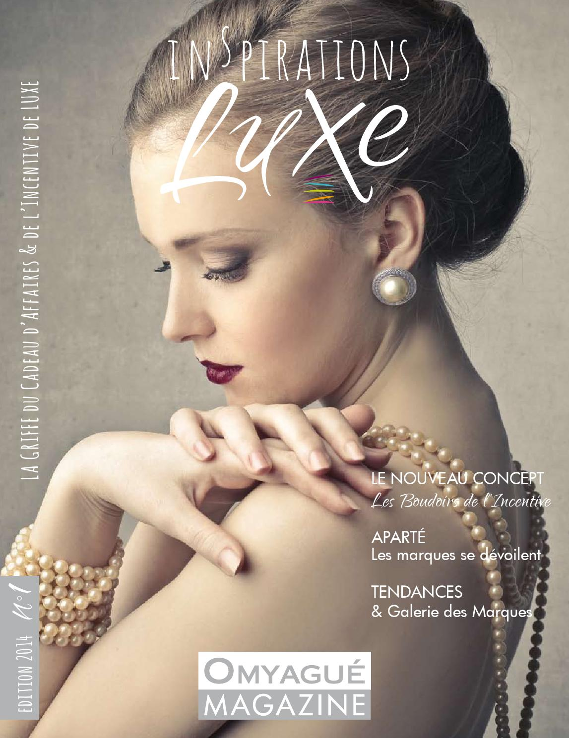 Magazine Inspirations Luxe édition n°1 by OMYAGUE issuu