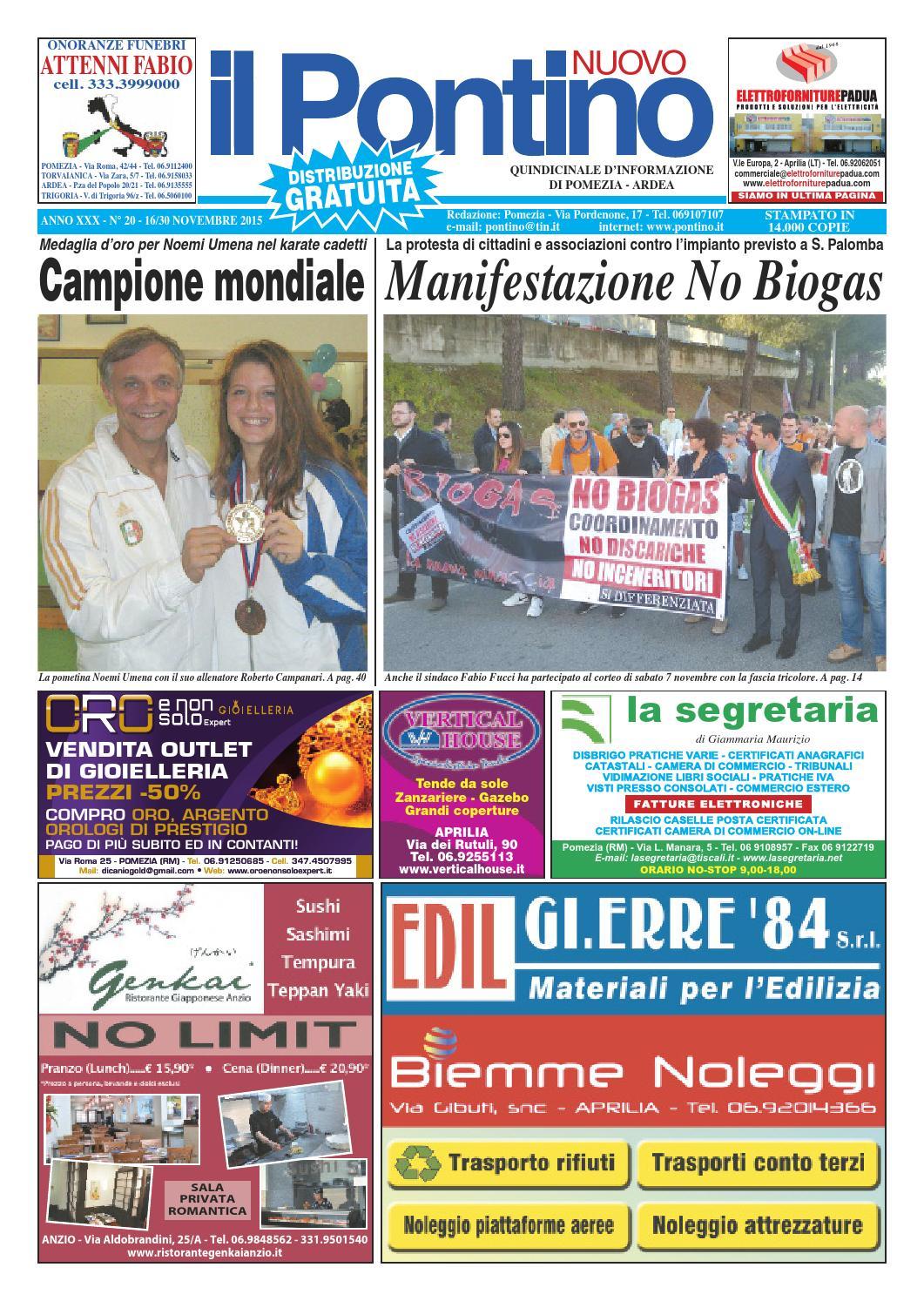 Il Pontino Nuovo - Anno XXX - n. 20 - 16 30 Novembre 2015 by Il ... 5c75bf23a0e