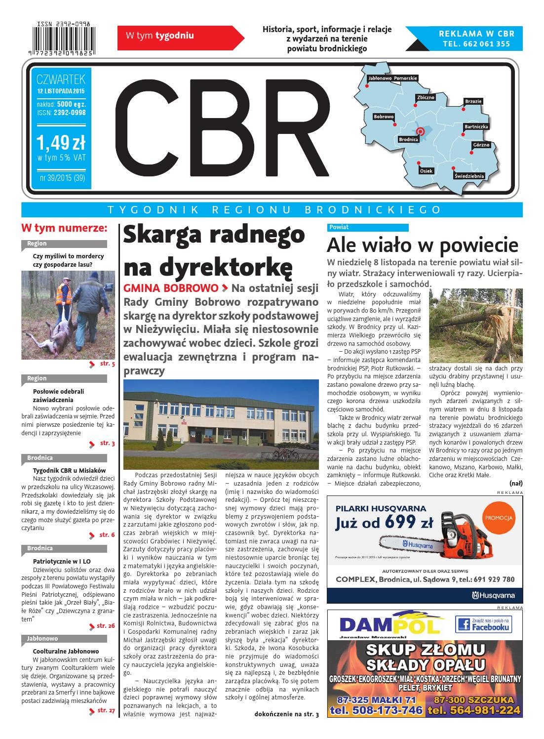 Cbr Nr 39 By Brodnica Cbrpl Issuu