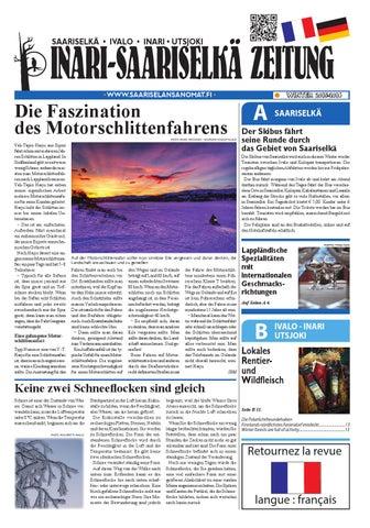 Inari-Saariselkä News in German by Saariselän Sanomat - issuu