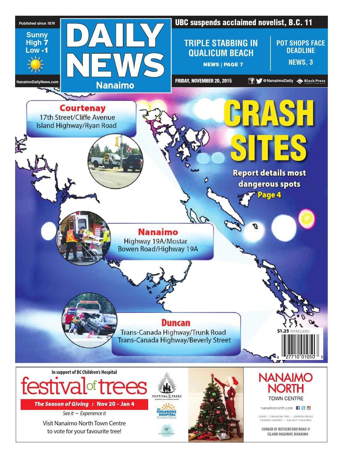 Nanaimo Daily News November 20 2015 By Black Press Issuu Vw Single Weber 44 Idf Electric Rotary Fuel Pump Install Youtube