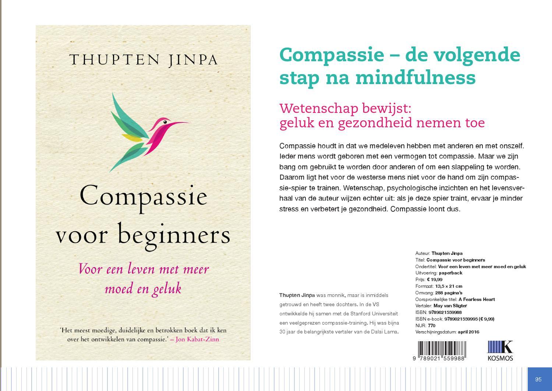 thupten jinpa compassie voor beginners
