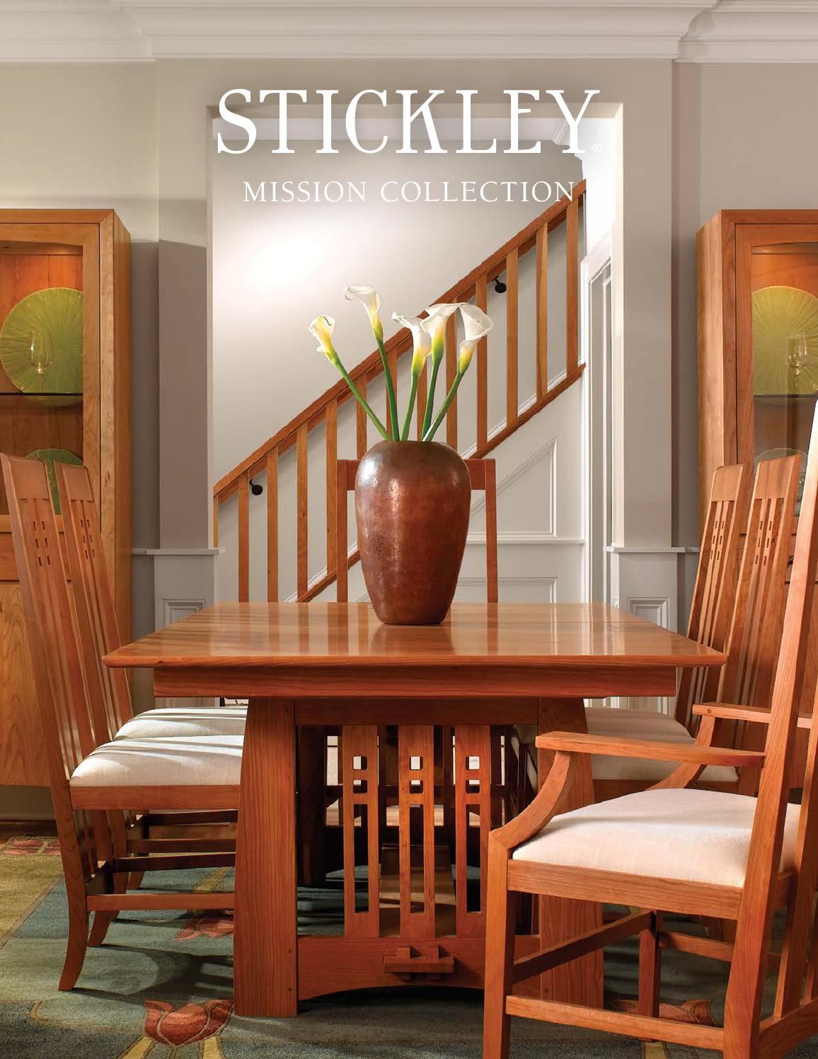 Stickley Mission Oak Cherry Collection by Stickley issuu
