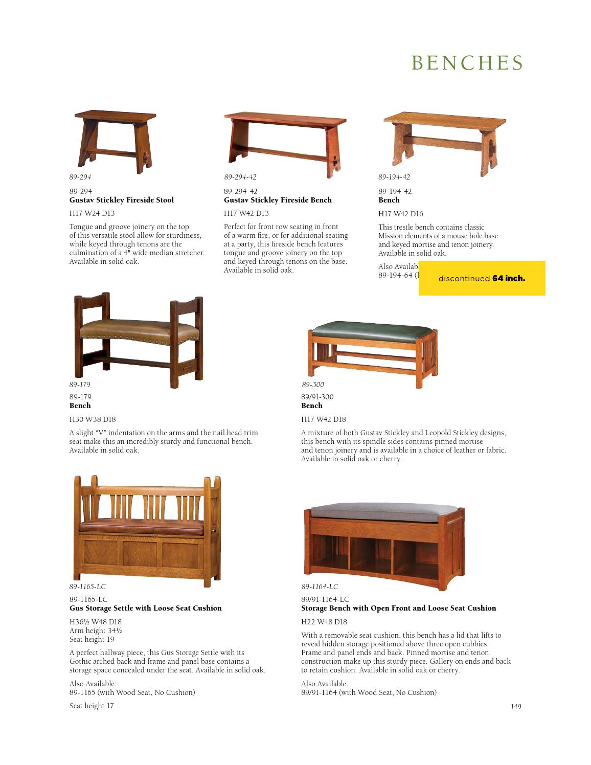 Brilliant Stickley Mission Oak Cherry Collection By Stickley Issuu Machost Co Dining Chair Design Ideas Machostcouk