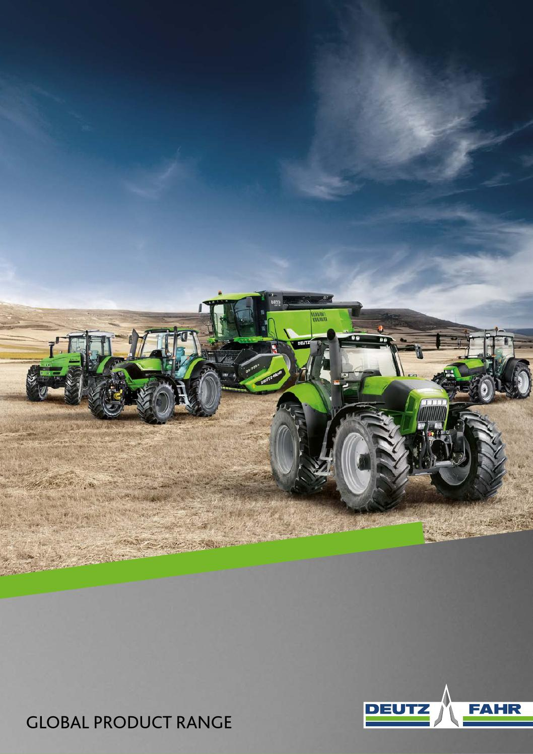 deutz fahr global range 2016 by deutz fahr issuu rh issuu com Deutz Diesel Parts List Deutz Tractors