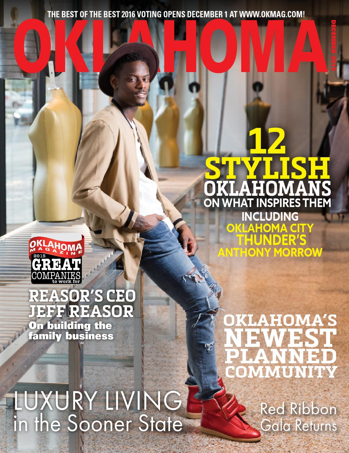 Oklahoma Magazine December 2015 by Oklahoma Magazine - issuu ae6eebc57