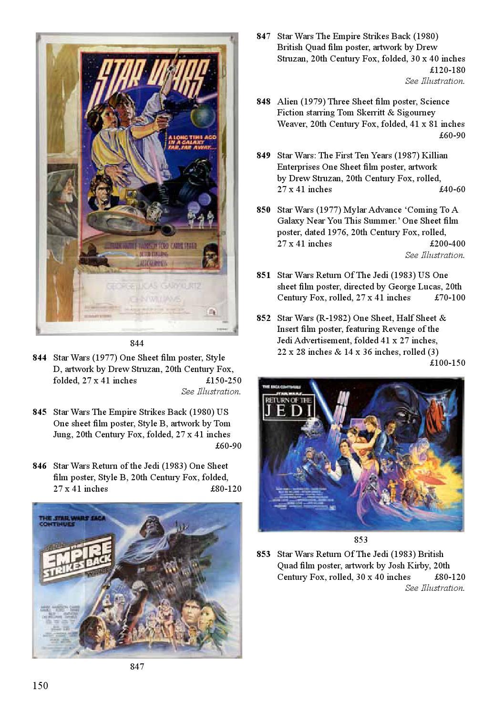 Ewbanks Entertainment & Memorabilia Auction December 2015 by
