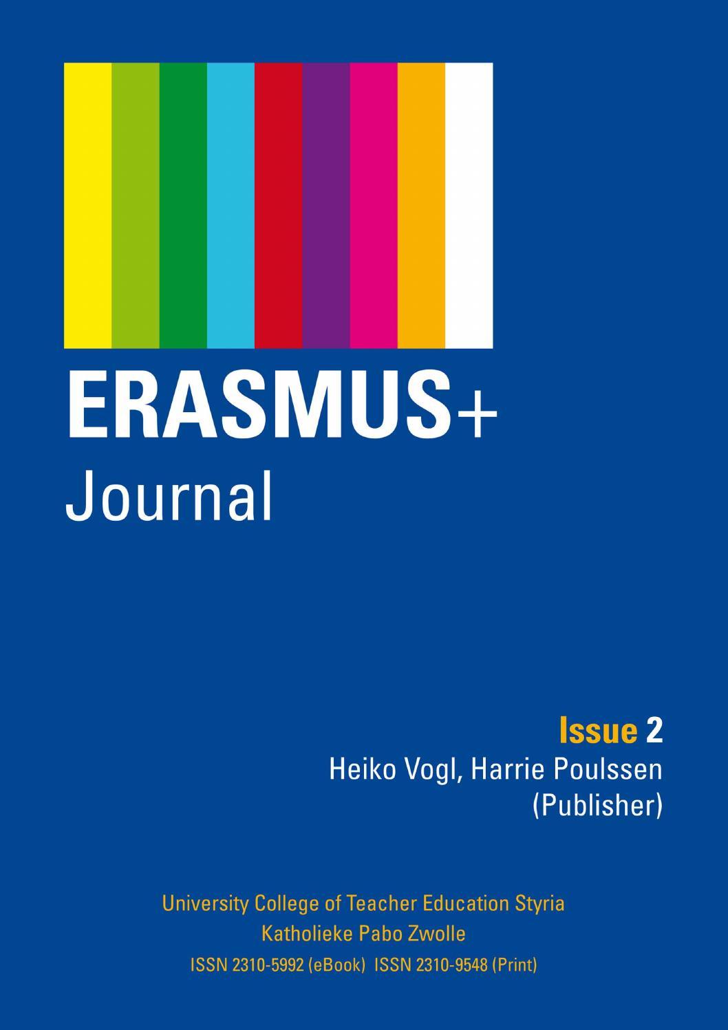 Erasmus+ Journal Issue 2 By Heiko Vogl   Issuu