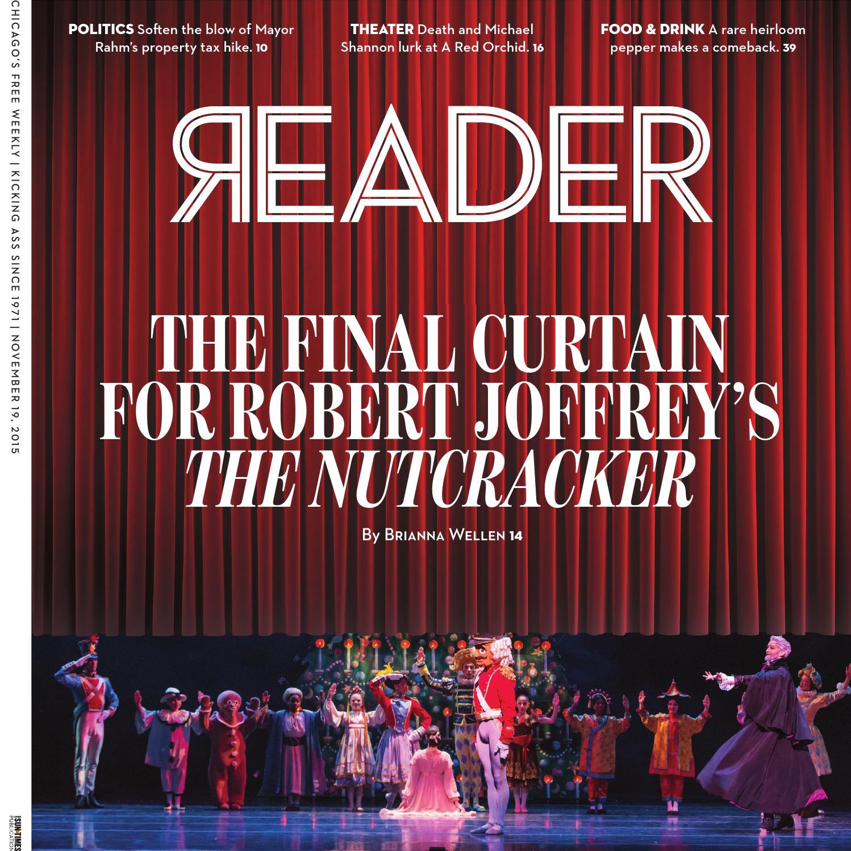 Chicago Reader November 19 2015 Volume 45 Number 8 By Chicago  # Muebles Jenny Scheihing