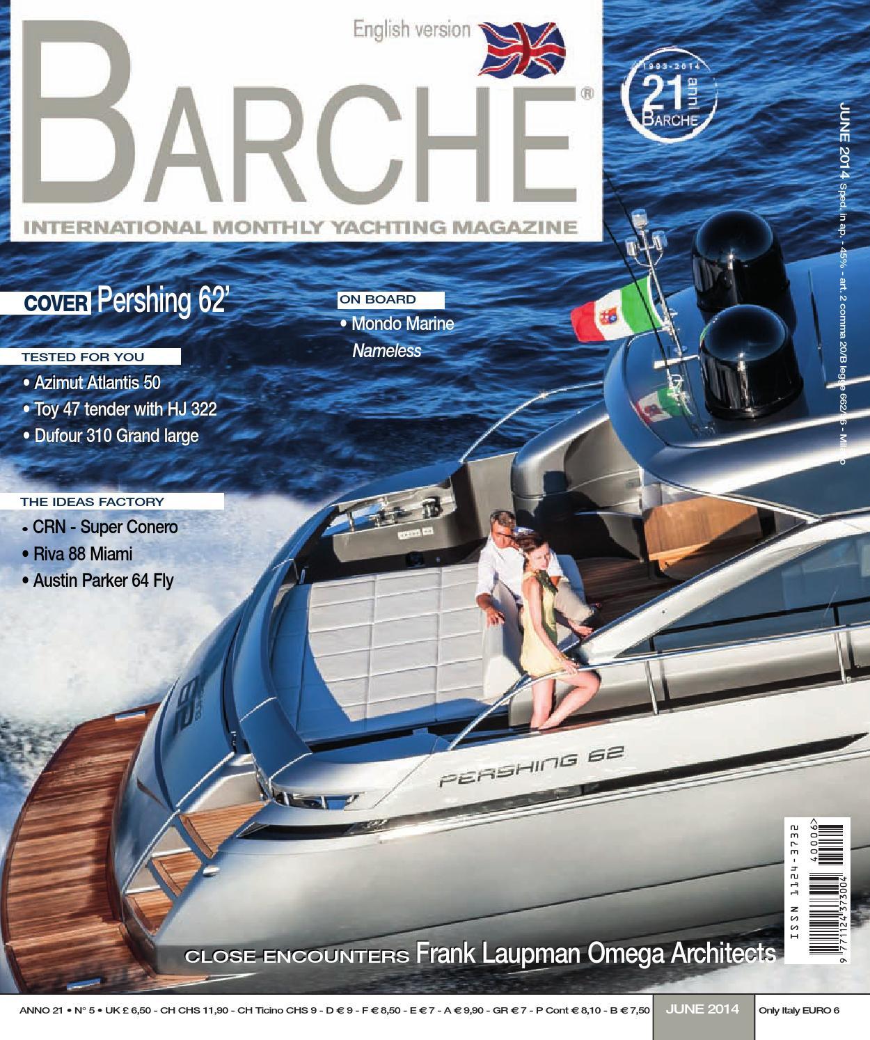 81b8b5424e94 BARCHE June 2014 by INTERNATIONAL SEA PRESS SRL - BARCHE - issuu