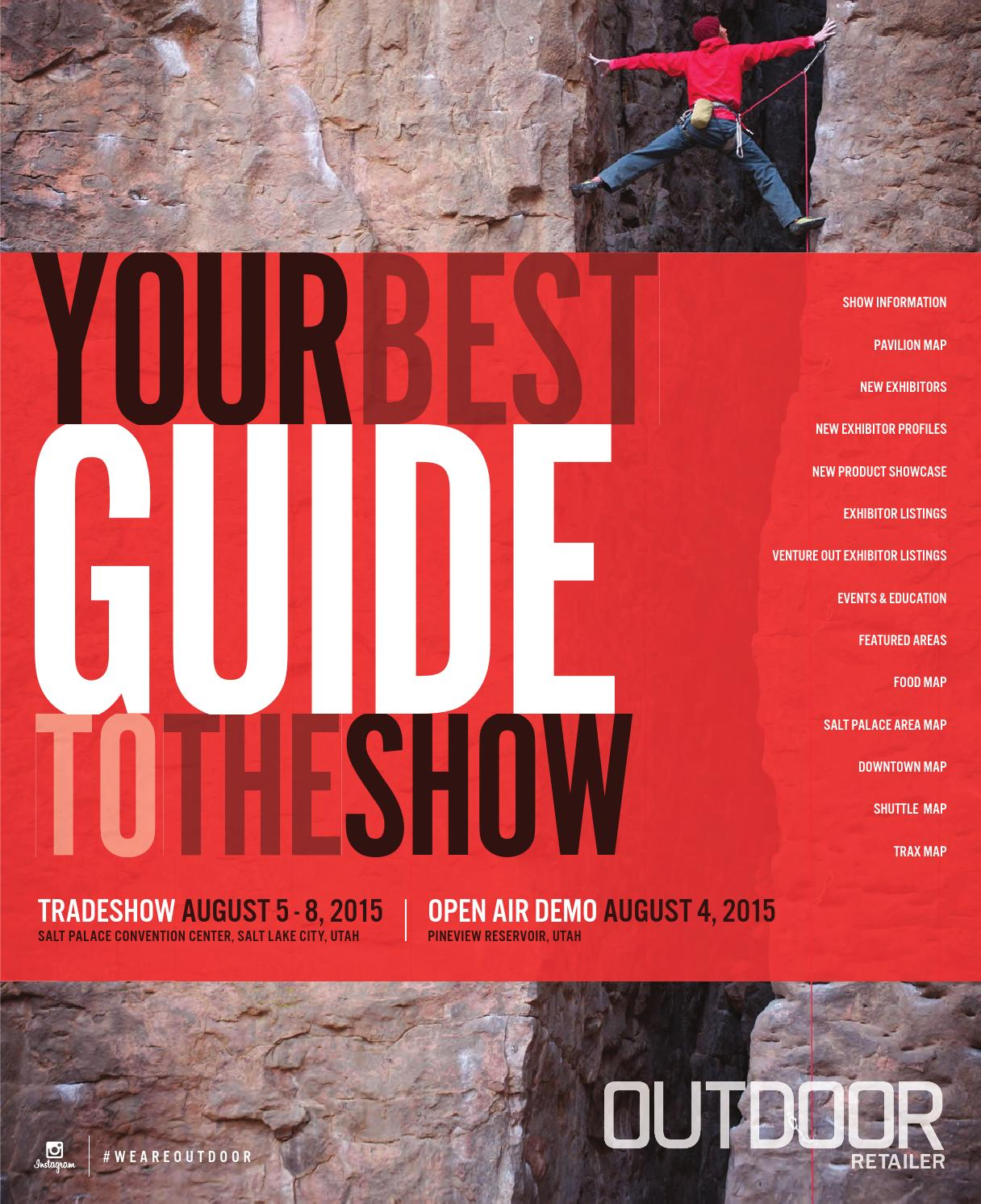 Su15 Show Directory by Outdoor Retailer - issuu cdfd64b8be5f
